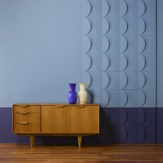 Orac W107 Circle Wall panel 33.3x33.3x2.9 cm