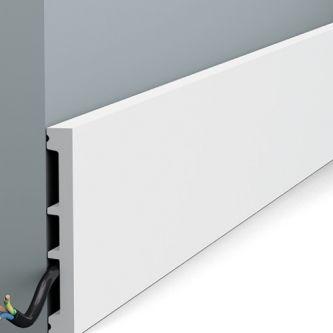 Orac SX163 RAL 9003 hoge plint 200x10.2x1.3 cm