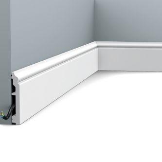 Orac SX173 RAL 9003 contour plint 200x10x1.6 cm