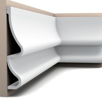 Orac wandlijst P3071 Golf 200x37.2x7.6 cm
